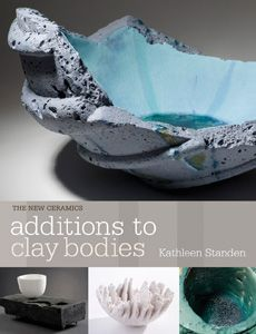 Additions To Clay by Kathleen Standen This book is an introduction to the use of additions in clay bodies, from hard materials like stones and glass to combustible matter, fiber, metals and color. http://ceramicartsdaily.org/bookstore/additions-to-clay-bodies/
