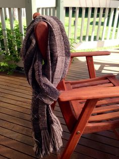 The Kiwi Scarf. Pure cosiness in alpaca, merino and silk woven for a distinguished gentleman's Christmas present ; Kiwi, Hand Weaving, Scarves, Pure Products, Fashion, Scarfs, Moda, Hand Knitting, Fashion Styles