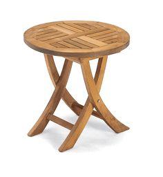 SonnenPartner Beistell Tisch Rund Teak Holz Stool, Table, Furniture, Home Decor, Beach Tops, Lounge Furniture, Tables, Round Round, Lawn And Garden