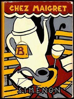 Chez Maigret Simenon 1951 - cover Dick Bruna