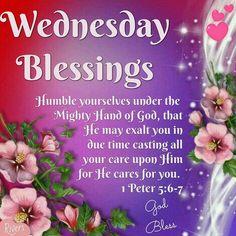 874 Best Wednesday Blessingsgreetings Images Good Morning