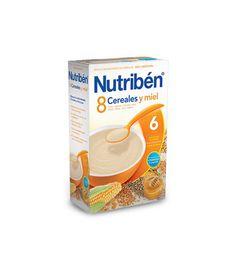 Nutriben 8 cereales y miel