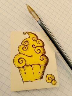 Dorado cupcake