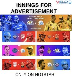 HURRY UP ! Only few days are remaining for the biggest blast of sports after covid 19 ever. If you find live cricket advertising beyond your reach? Not anymore! Take your brand awareness campaigns to the next level with advertising on Hotstar during live streaming of IPL 2020 matches. Advertising packages start at INR 1 Lakh. 👉Contact us to Advertise over hotstar, sports channels, etc.. . Contact us to apply our services- 📲 9623364413 Online Marketing Services, Best Digital Marketing Company, Social Media Marketing, Sports Channel, Live Cricket, Reputation Management, Create Website, Digital Media, Advertising