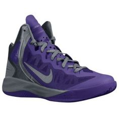 competitive price feafd 2a5bd Nike Zoom Hyperenforcer PE - Men's - Basketball - Shoes - Club Purple/Cool  Grey/Metallic Silver