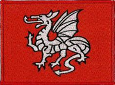 English Pendragon Embroidered Patchfrom www.Klicnow.com