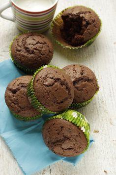 Muffin al cacao, facili veloci e buoni | Tempodicottura.it