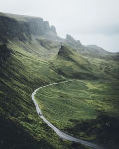 Cruising through the Quiraing. One of my favorite stretches of road in Scotland.  Iceland tomorrow! Can't wait to be back.