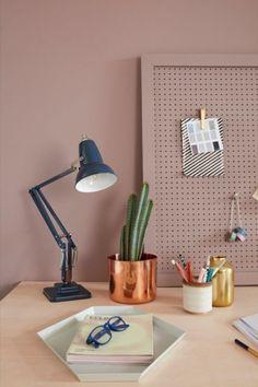 Lampe de bureau moderne de bureau-mauve