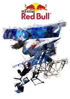 Red Bull Flugtag - The first PR campaign I worked on. Team Member, Red Bull, My Works, Zen, Campaign, Bucket, Buckets, Aquarius