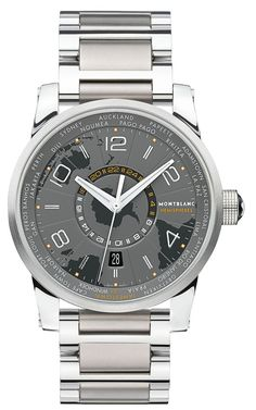 #Mont Blanc Southern Hemisphere World Timer priced at USD 5,000.