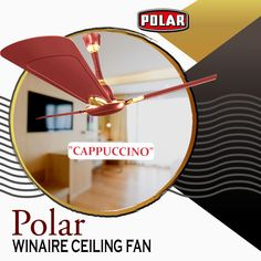 Polar Winaire Fan, the true champion amongst ceiling fans that guarantees higher speed, higher air thrust and higher air-delivery. Ceiling Fans, Champion, Delivery, Ceiling Fan