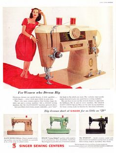Need this for my craft room, the last one is one of my sewing machines! Singer 99-31K