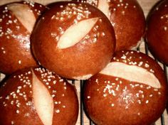 Super Soft Pretzel Rolls- For burgers, sandwiches. Change the shape and at hot dogs, awesome