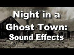 This is an experimental nature sound that utilizes visualization. The sound of a thunderstorm rolling in over a haunted ghost town in the old west.