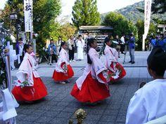 宇和津彦神社 鷺の舞
