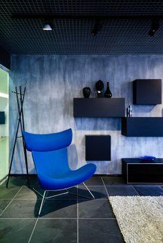 Individuelle Farbtechnik Für Die Wandgestaltung Der Wohnräume.