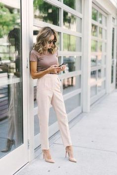 Summer Work Outfits Office, Simple Work Outfits, Stylish Summer Outfits, Fall Outfits, Office Wear, Casual Summer, Business Professional Outfits, Business Outfits Women, Corporate Outfits