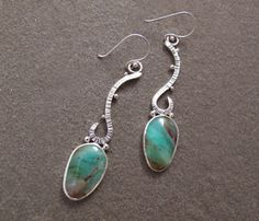 Lovely, watery Peruvian opals https://www.etsy.com/listing/228300496/blue-peruvian-opal-earrings-metalwork?ref=shop_home_active_3