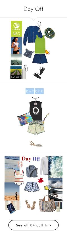 """""""Day Off"""" by taci42 ❤ liked on Polyvore featuring casual, adidas NEO, Tees by Tina, Fat Face, Be-Jewelled, Eva Solo, neorunway, Givenchy, Sam Edelman and shorts"""