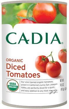 Cadia Diced Tomatoes