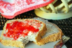 Easy-peasy homemade bread    Extremely easy. Very dense bread, but good. It makes delicious grilled cheese sandwiches!