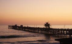 San Clemente Pier, southern California.