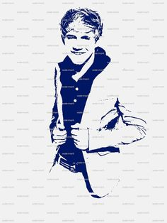One Direction Niall Horan Matted Print by CHEERfull on Etsy, $15.00