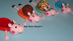 Porta Docinhos Peppa Pig Em Biscuit