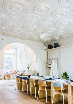 The Edwardian Ceiling Rose Shop - Wm. Boyle Interiors