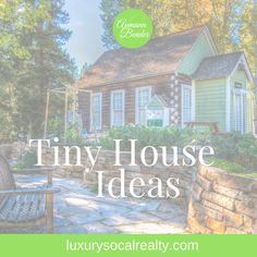 Follow my tiny house ideas board with cottages, small houses on wheels, and shipping container home plans for families. Find tiny house interior and exterior with layout and decor on one level. Dream about luxury modern small homes with storage hacks curated by San Diego   Joy Bender Luxury Real Estate Agent   Pacific Sotheby's La Jolla Realtor® #REDigitalMarketing #tinyhouse #tinyhouseplans #tinyhome #tinyhouses