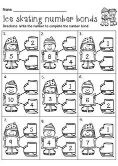 Разнообразные математические задания. Зима