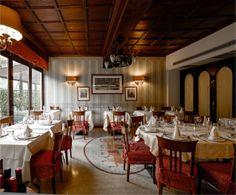 """Sala Carrozza"" dining room"