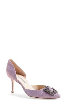 b23ac99d358 Manolo Blahnik  Hangisi  Pointy Toe d Orsay Pump (Women) (Nordstrom  Exclusive) available at