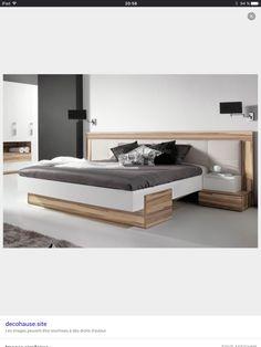 Bed Back Design, Wood Bed Design, Japanese Style Bedroom, Modern Bedroom Furniture Sets, Bed Headboard Design, Modern Apartment Design, Home Design Floor Plans, Bedroom Closet Design, Luxurious Bedrooms