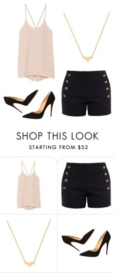 """""""Untitled"""" by itsjuliexx on Polyvore featuring Mode, Helmut Lang, Chloé, Stella & Bow und Christian Louboutin"""