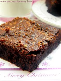 Christmas Brownie with Orange....great idea but can't translate recipe!