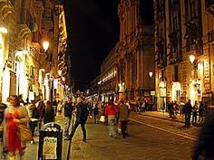 passeggiata a Catania - La vie commence à 19h !