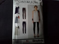 SIMPLICITY S0578 Cynthia Rowley collection by TNMTREASURES on Etsy, $5.00