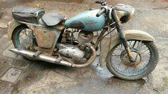 IZH 1956 vintage 350 2 stroke russian rare bike