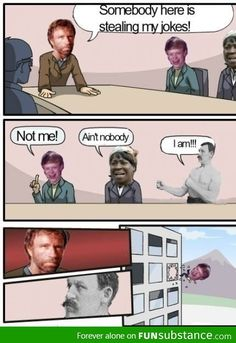 Chuck Norris vs Overly Manly Man