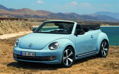2016 Volkswagen Beetle Convertible (Cyan)