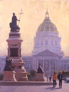 Randall Sexton, Civic Pride, Oil on Linen on Panel, 40 x 30 inches, 2007