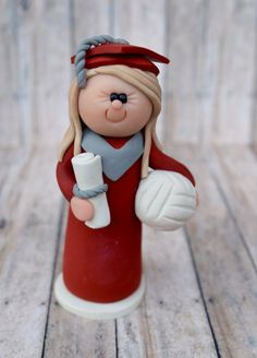 Graduation Cake Topper  personalized Graduation by CalledandChosen