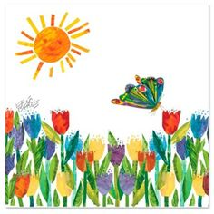 Eric Carle Butterfly in the Sun Wall Art - BedBathandBeyond.com