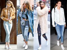 19 Celeb-Inspired Ways to Wear White Sneakers | People
