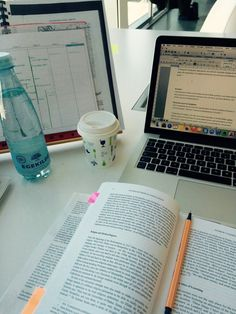 """eat-sleep-read: """" Working on my exam paper at the university library. A small coffee and lots of water to keep me going! """" Study Space, Study Desk, Exam Papers, Study Organization, Study Pictures, Pretty Notes, Work Motivation, Study Hard, Study Inspiration"""