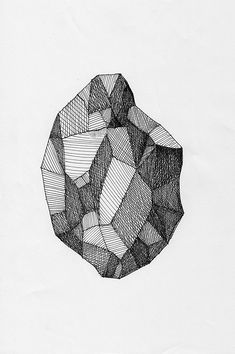 sketch of a raw gem stone in black and white – Skintal Diamond Sketch, Diamond Drawing, Black And White Artwork, Black And White Sketches, Diamond Illustration, Illustration Art, Hatch Drawing, Gem Drawing, Texture Drawing