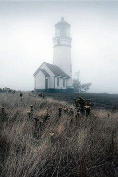 #lighthouse #fog