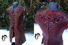 Eagle Celtic Vest by Feral-Workshop
